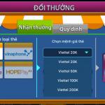 Hướng dẫn đổi phần thưởng thẻ cào trong game đánh bài trực tuyến