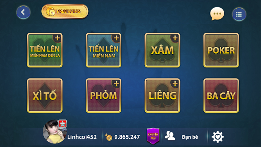 Game bai Online – Vua danh bai screenshots 1