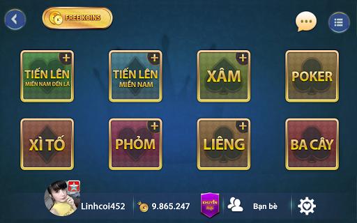 Game bai Online – Vua danh bai screenshots 5