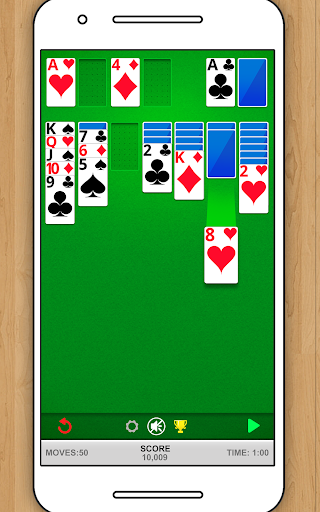 SOLITAIRE CLASSIC CARD GAME screenshots 10