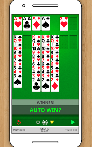 SOLITAIRE CLASSIC CARD GAME screenshots 11