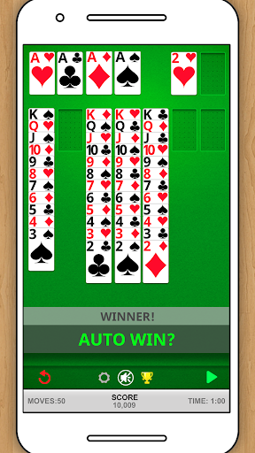 SOLITAIRE CLASSIC CARD GAME screenshots 3