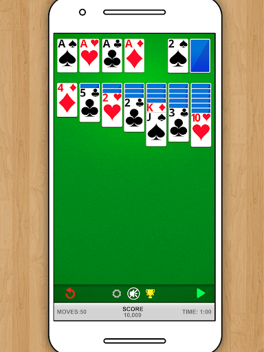 SOLITAIRE CLASSIC CARD GAME screenshots 5