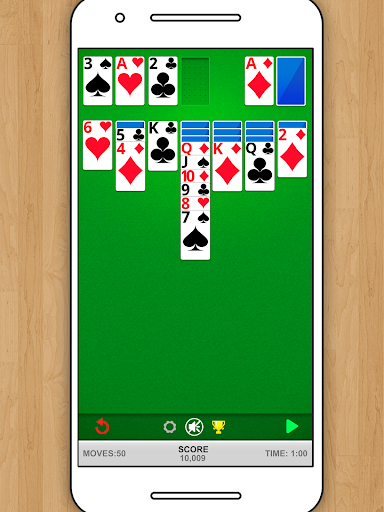 SOLITAIRE CLASSIC CARD GAME screenshots 8