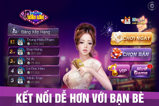 Tin ln Min Nam- Tin Ln – tien len – ZingPlay screenshots 2