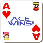 Ace Wins! A simple 3 cards game.